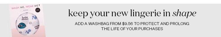 Add a washbag to your cart from $9.99